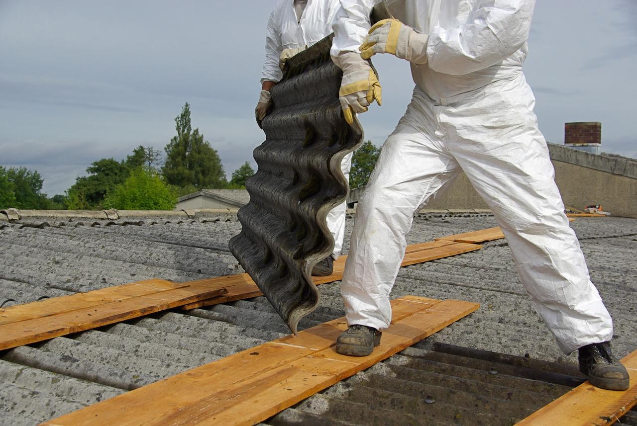 Bild 1 - Asbestsanierung
