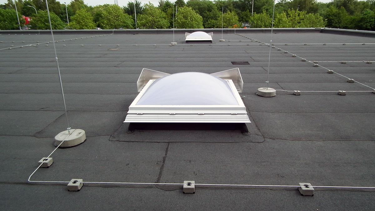 Bild 2 - Blitzschutzanlage