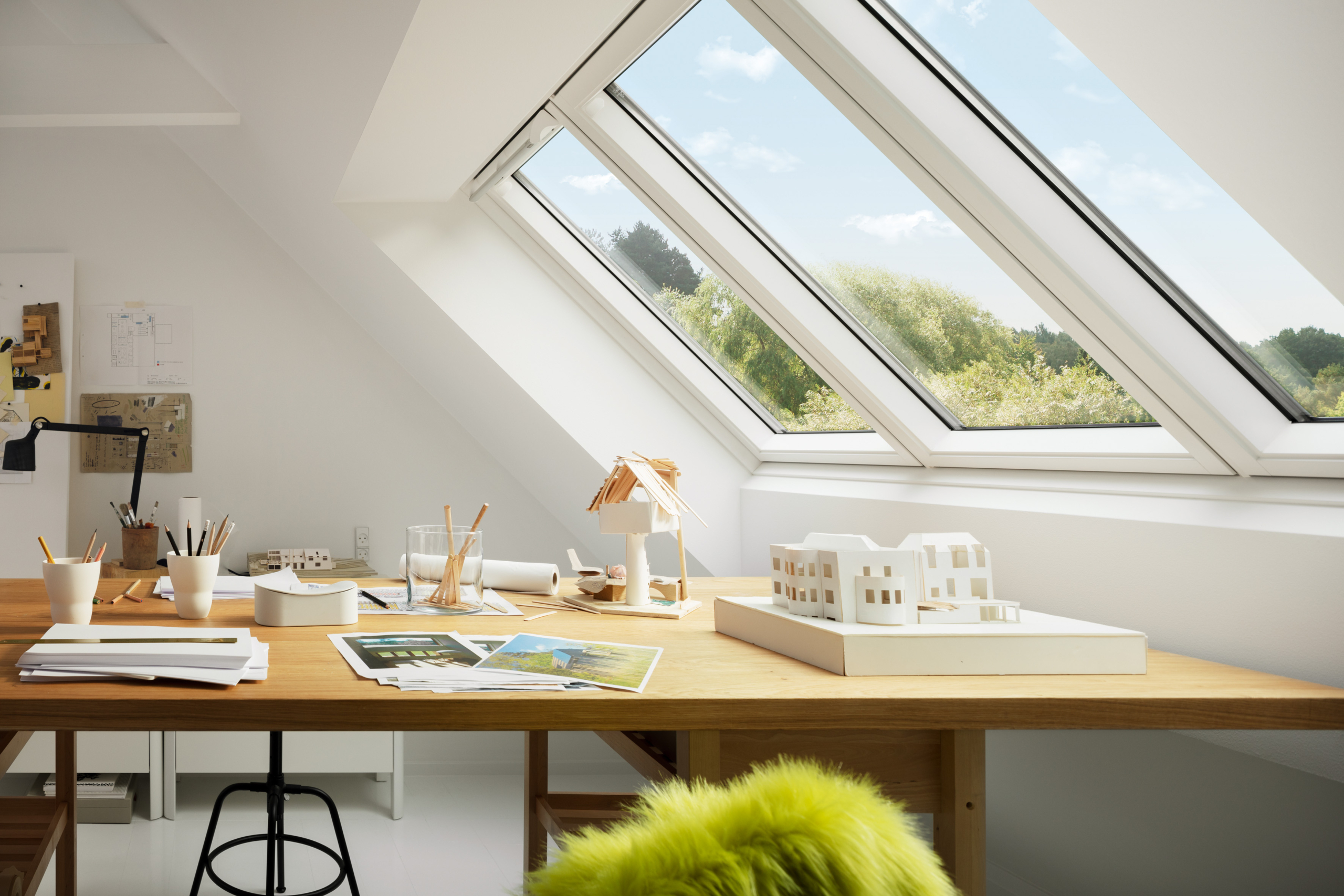 Bild 2 - Studio/Klappfenster by Velux