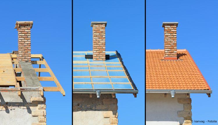 Bild 1 - Dachsanierung