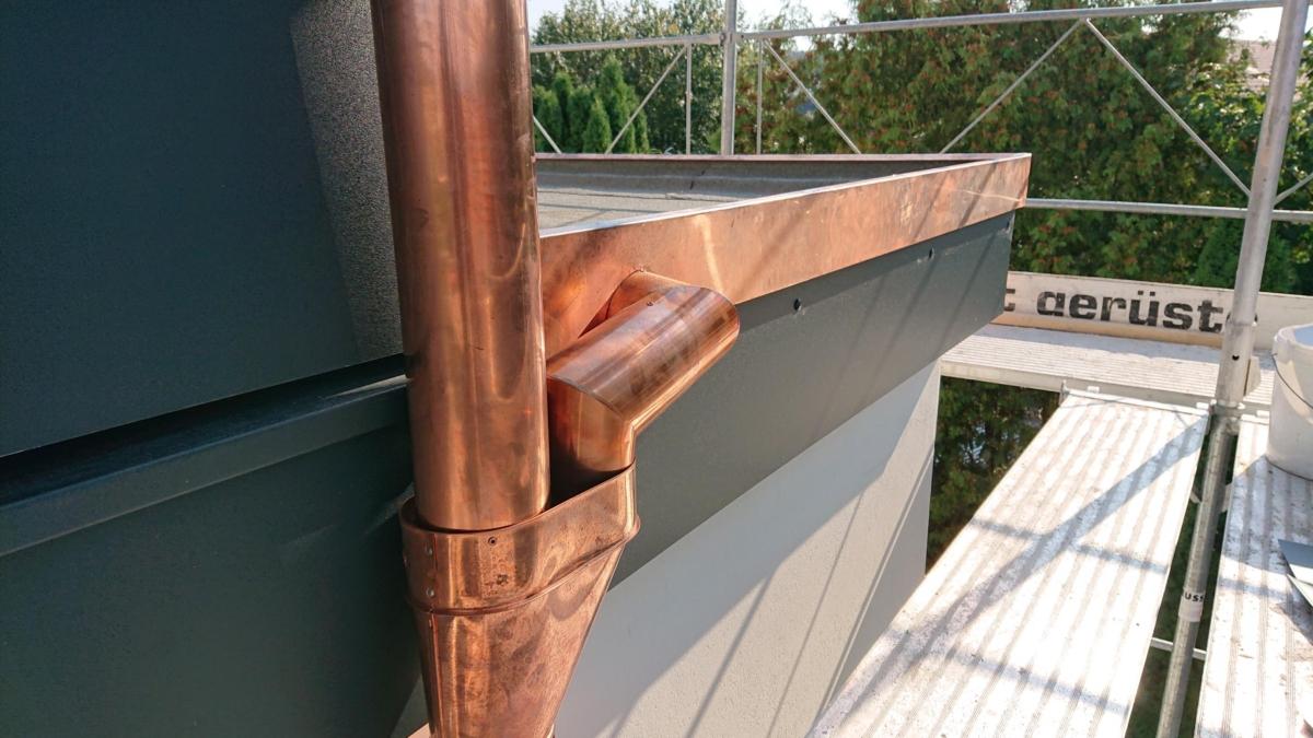 Bild 1 - Dachspenglerarbeiten